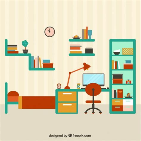 colorful bedroom colorful bedroom furniture vector free
