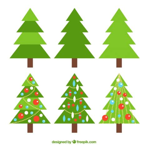 trees with ornaments collection of simple and trees with ornaments