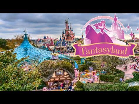 fantasyland attractions disneyland paris youtube