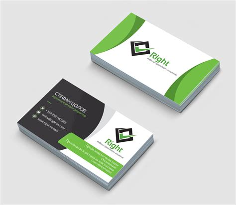 graphic design business card layout design of corporative business cards creatica studio