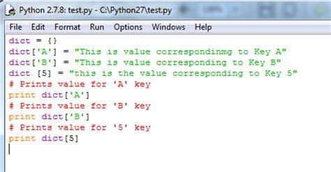 tutorial python dictionary python dictionary sort method