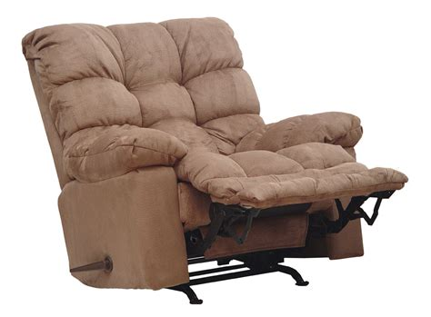 Recliners With Heat by Catnapper Magnum Chaise Rocker Recliner With Heat And