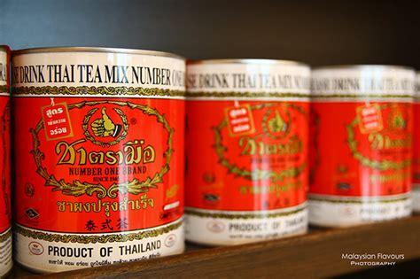 Thaitea Original 1 cha tra mue number one original thai tea ioi city mall putrajaya malaysian flavours