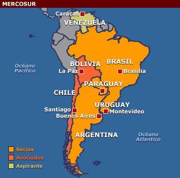 le mercosur, une puissance montante de l'amérique latine