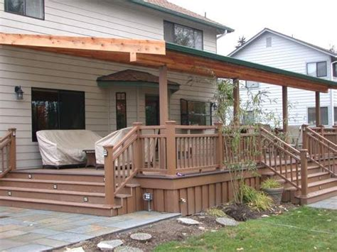 deck roof ideas 44 best images about patio roof designs on