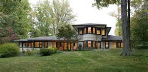 frank lloyd wright inspired prairie style home virtually build off winners
