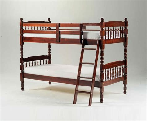 Meir Cherry Wooden Bunk Bed Single Sized Uk Delivery Cherry Wood Bunk Bed