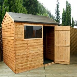 8x6 Shed Millbrook Value Overlap Apex Shed 8x6 One Garden