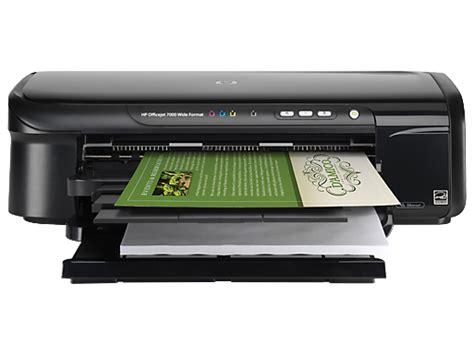 hp officejet 7000 wide format printer e809a