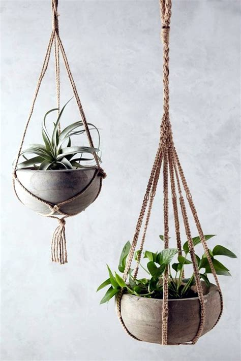 hanging plant diy 40 elegant diy hanging planter ideas for indoors bored art