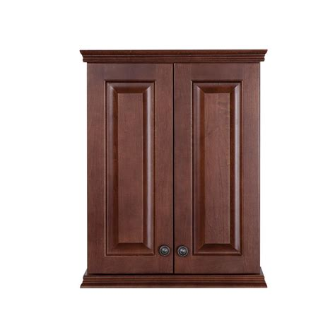 home depot bath wall cabinets st paul summit 22 in w x 28 in h x 9 in d over the