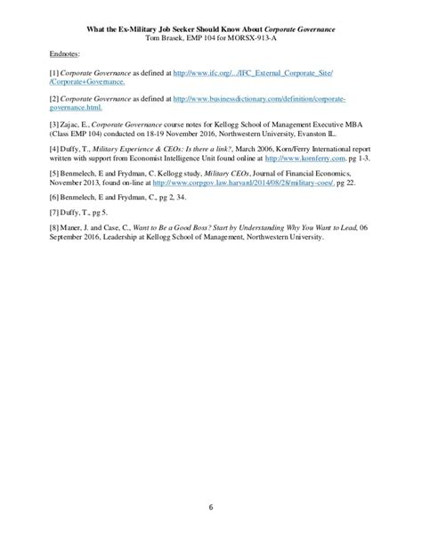 Corporate Governance Mba Notes Pdf by What The Ex Seeker Should About