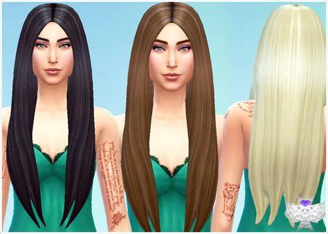 sims 4 longest hair my sims 4 blog david sims classic long hair for females