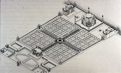Taj Mahal Garden Layout 6 Amazing Facts You May Not About The Taj Mahal