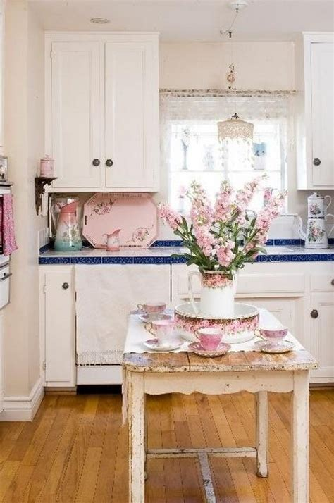 shabby chic kitchens ideas 50 sweet shabby chic kitchen ideas 2017
