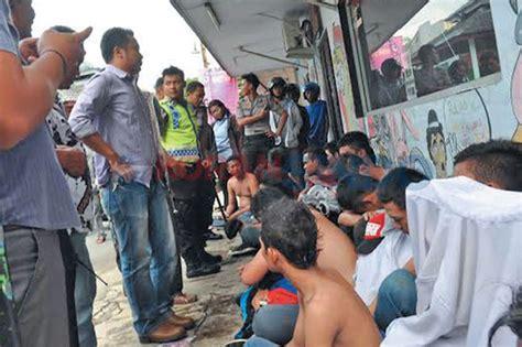 Tv Tabung Jember mau tawuran puluhan pelajar smk di tangerang diamankan