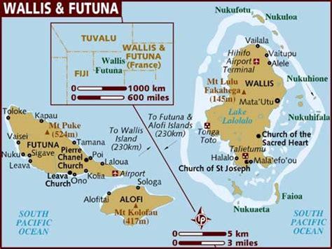 wallis and futuna map map of wallis futuna