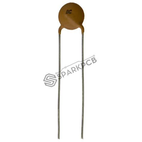 10 Pf Ceramic Disc Capacitor by Ceramic Disc Capacitors Sparkpcb