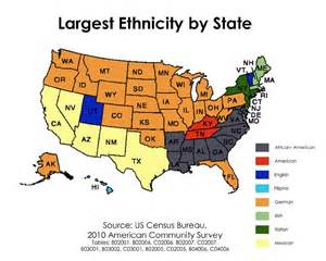 us map by nationality the american mosaic map of america s largest ethnic groups