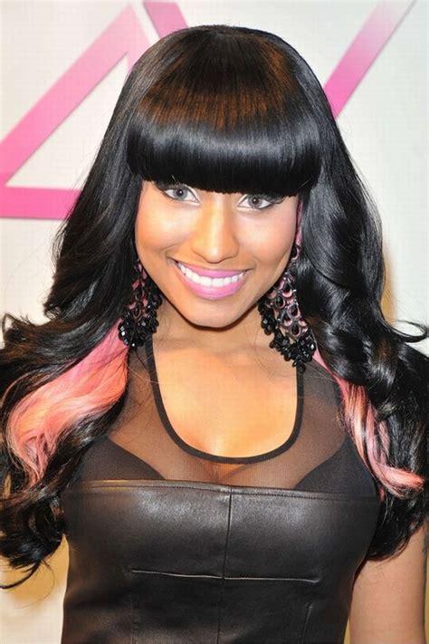 hip hop hairstyle for nicki minaj hip hop hairstyle smile