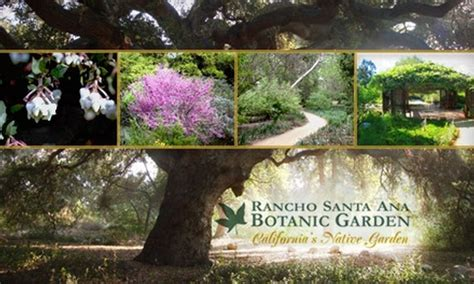 Rancho Santa Botanic Garden Rancho Santa Botanic Garden Los Angeles Deal Of The
