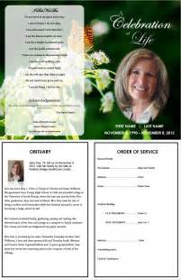 Free Editable Obituary Templates Word Pdf Daily Roabox Daily Roabox Free Editable Obituary Template