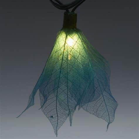 teal string lights 9ft tropical flower lights 110v ac string lights teal