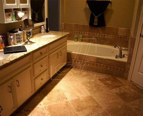is travertine good for bathroom floors 32 best images about bathroom on pinterest travertine