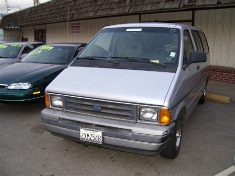 ford aerostar 1991 ford aerostar information and photos zombiedrive
