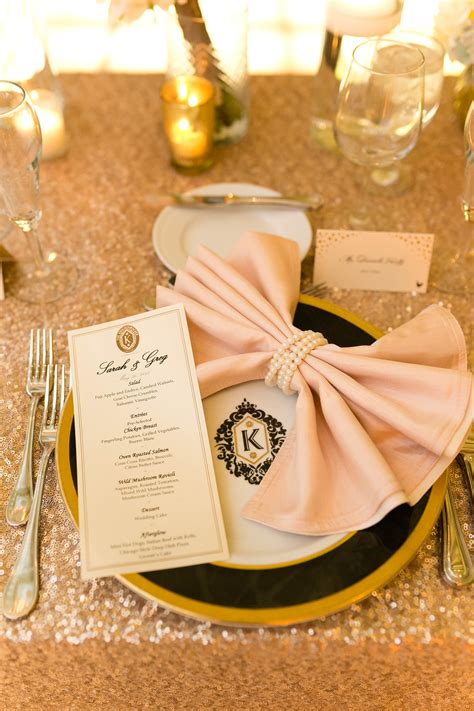 Wedding Napkin Folds by Pink Bow Napkin Fold Elizabeth Designs The Wedding