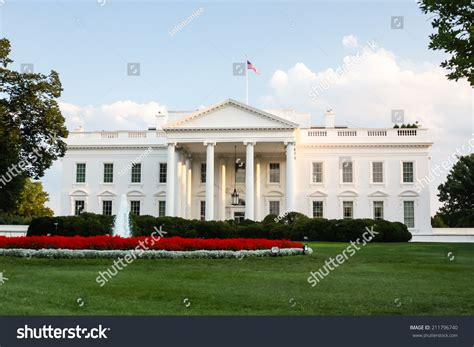 White House Official White House Official Residence President United Stock
