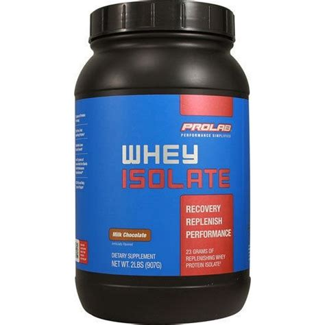 Whey Isolate Prolab Whey Isolate Prolab 2 Lbs