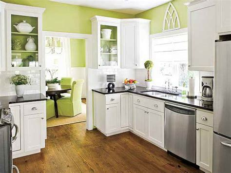 Paint Colors For Kitchen Cabinets And Walls | kitchen paint colors with white cabinets home interior