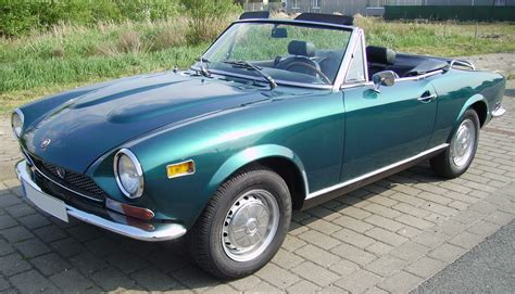 fiat 124 spider photos 6 on better parts ltd