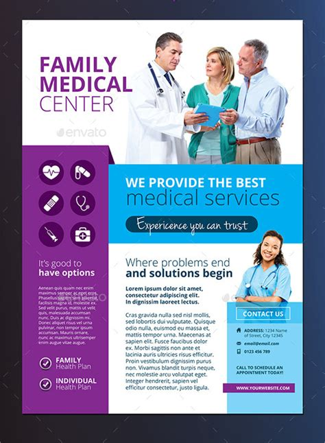17 medical flyer templates free psd ai eps format