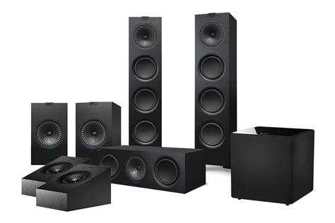 kef   home theatre atmos speaker system digital
