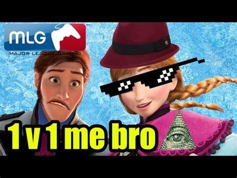 Mlg Meme - anna mlg 1v1 hans montage montage parodies know your meme