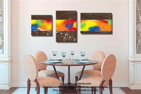 Supérieur Tableau Decoration Salle A Manger #1: Tableau-d%C3%A9co-moderne-salle-%C3%A0-mangerLa-croisi%C3%A8re-s--Bamuse.jpg