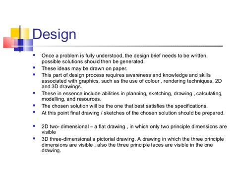 design brief grade 9 technology technology grade7