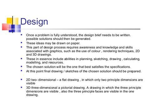 Design Brief Grade 7 | technology grade7