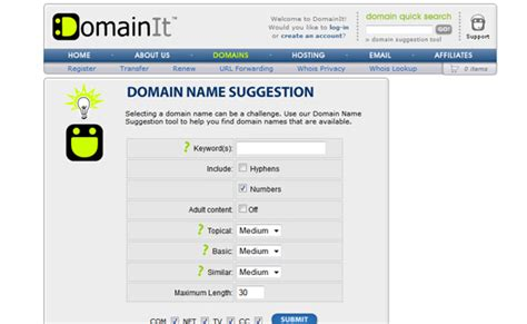 pattern domain name 20 useful free tools for startups choosing small business
