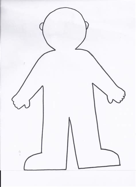 printable flat stanley template flat stanley coloring page coloring home