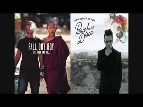 Fall Out Boy The Premiere For This Aint A Its An Arms Race Tomorrow 1219 Only On Mtv Exclusive The Clip With Pete Wentz by Fall Out Boy This Ain T A Panic At The Disco