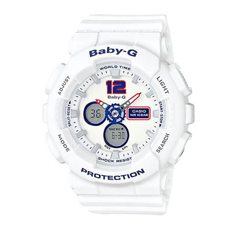 Jam Tangan Wanita Casio Baby G Ba 120tr 7bdr Sport casio baby g ba 120tr 7b indowatch co id