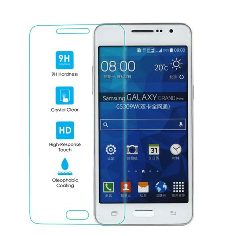 Tempered Glass A500h Samsung Galaxy A5 Duos Diskon 2 tempered glass for samsung galaxy gran prime screen protector glass grand duos sm g530f sm g530h
