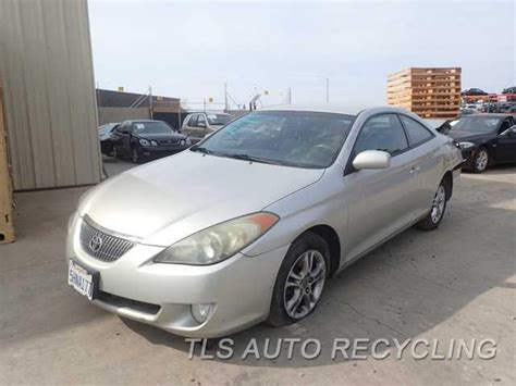 parting out 2005 toyota solara stock 6079bl tls auto