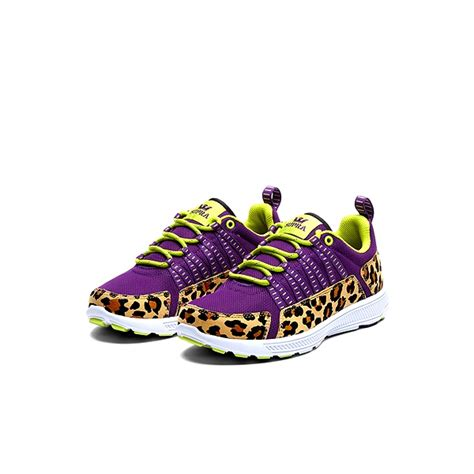 animal print athletic shoes supra s owen animal print running shoes cheetah