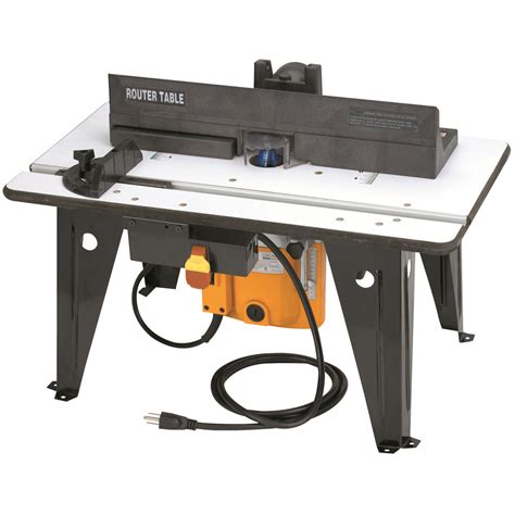 Benchtop Router Table With 1 3 4 Hp Router Benchtop Router Table