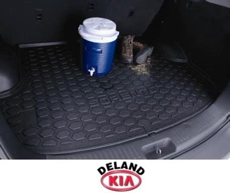 All Weather Floor Mats 2012 Kia Sorento Oem Kia 2013 2012 2011 Sorento Rear Rubber Cargo Tray Mat