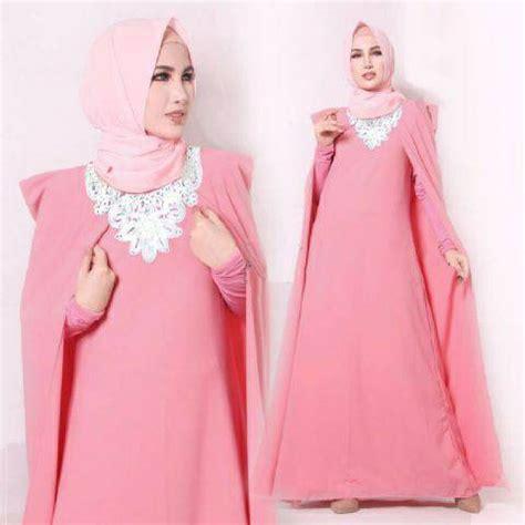 Model Baju Gamis Wanita Terbaru model gamis terbaru setelan baju muslim wanita modern